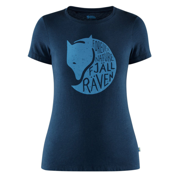 Fjallraven Womens Forever Nature T-Shirt Navy