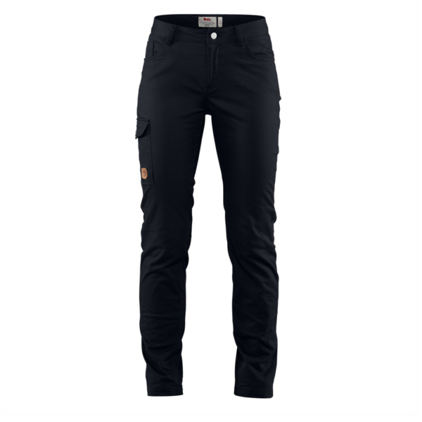 Fjallraven Womens Greenland Stretch Trousers Black