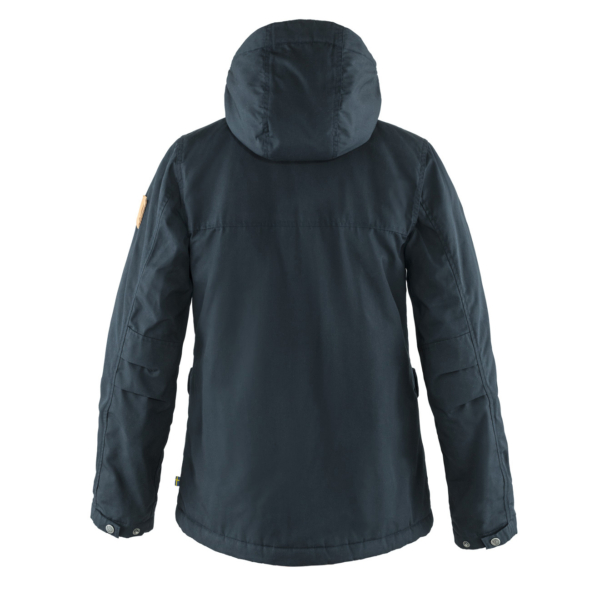 Fjallraven Womens Greenland Winter Jacket Night Sky