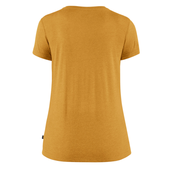 Fjallraven Womens High Coast Lite T-Shirt Ochre