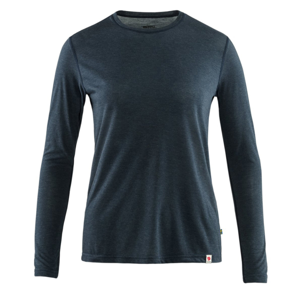 Fjallraven Womens High Coast Lite Top LS Navy