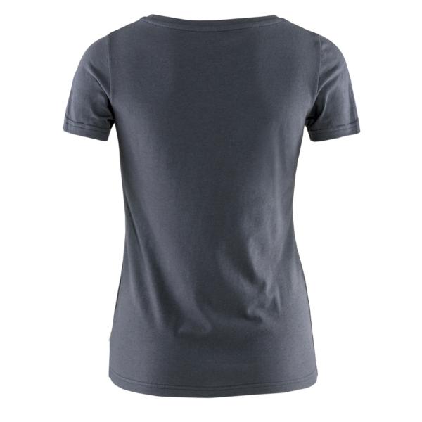 Fjallraven Womens Logo T-Shirt Navy