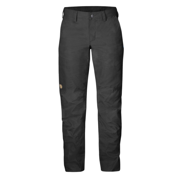 Fjallraven Womens Nilla Trousers Dark Grey