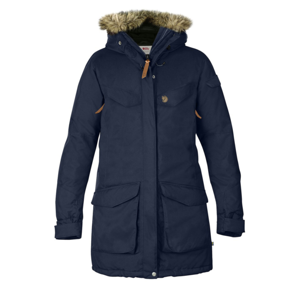 Fjallraven Womens Nuuk Parka Dark Navy