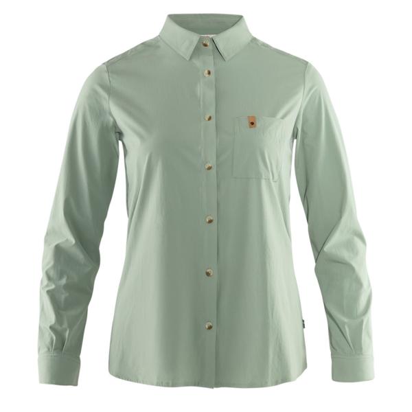Fjallraven Womens Ovik Lite Shirt LS Sage Green