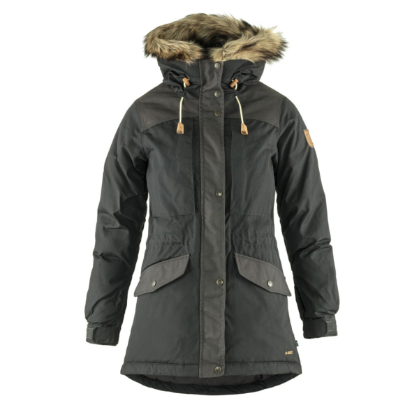 Fjallraven Womens Singi Down Jacket Dark Grey