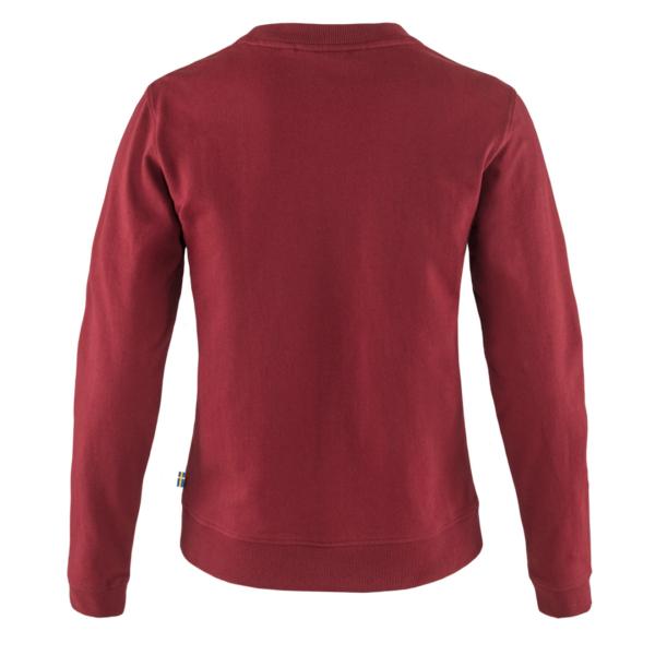 Fjallraven Womens Vardag Sweater Red Oak