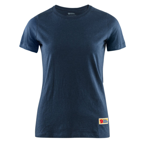 Fjallraven Womens Vardag T-Shirt Navy