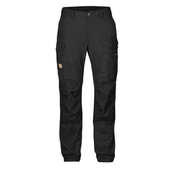 Fjallraven Womens Vidda Pro Trousers Black /Black Regular
