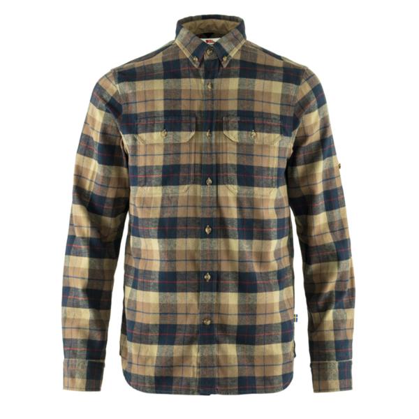 Fjallraven Singi Heavy Flannel Shirt Dark Sand