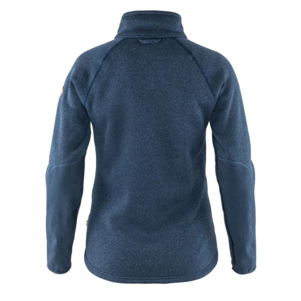 Fjallraven Womens Ovik Fleece Zip Sweater Navy