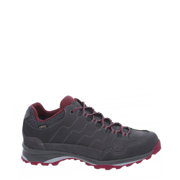 Hanwag Robin Light Lady GTX Shoes Asphalt / Dark Garnet