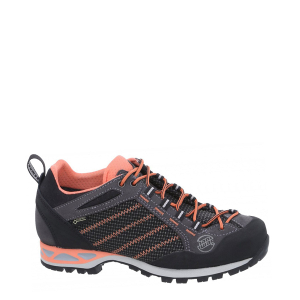 Hanwag Womens Makra Low Lady GTX Boots Asphalt / Orange