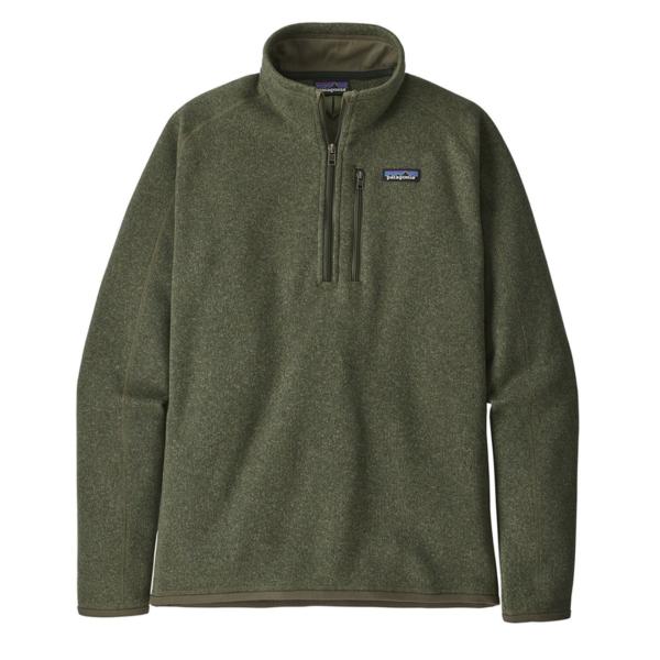 Patagonia Better Sweater 1/4 Zip Fleece Industrial Green