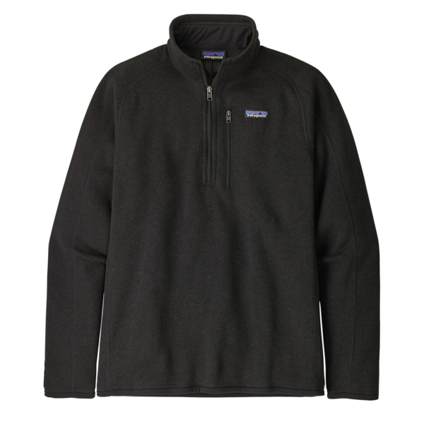Patagonia Better Sweater 1/4 Zip Fleece Black