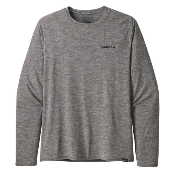 Patagonia Capilene Cool Daily Graphic Shirt L/S P6 Feather Grey