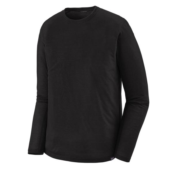 Patagonia L/S Cap Cool Trail Shirt Black