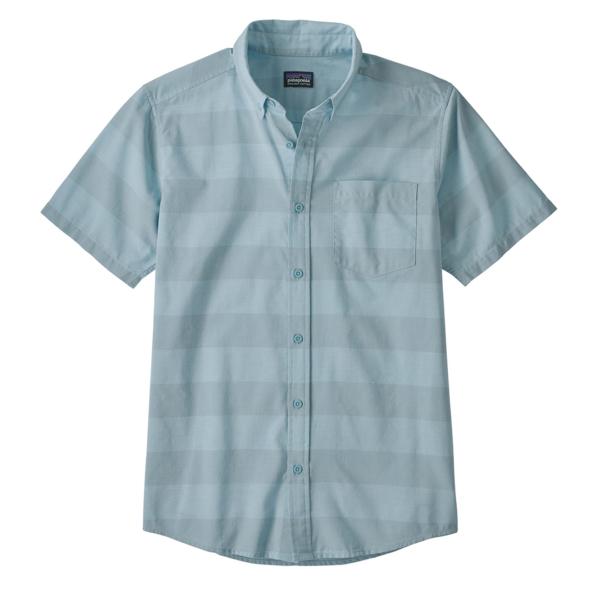 Patagonia Lightweight Bluffside Shirt Boll Stripe Big Sky Blue