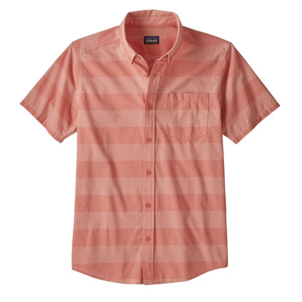 Patagonia Lightweight Bluffside Shirt Boll Stripe/Mellow melon