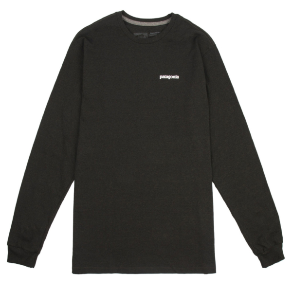 Patagonia Long Sleeve Fitz Roy Trout Responsibili-Tee Kelp Forest