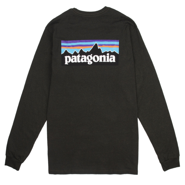 Patagonia Long Sleeve P-6 Logo Responsibili-Tee Kelp Forest