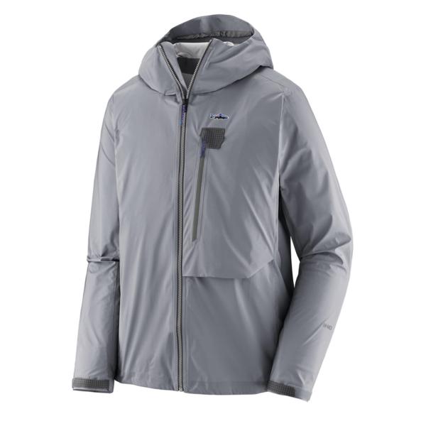Patagonia Mens Ultralight Packable Jacket Salt Grey