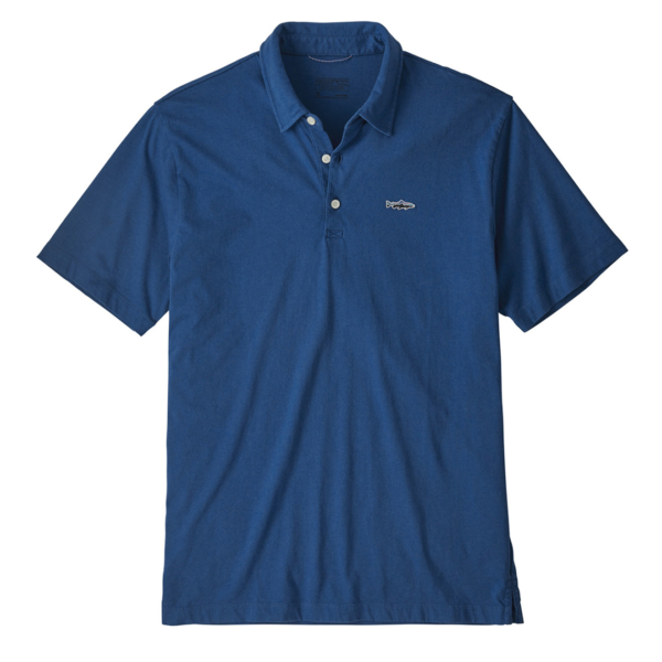 Patagonia Polo Trout Fitz Roy Superior Blue
