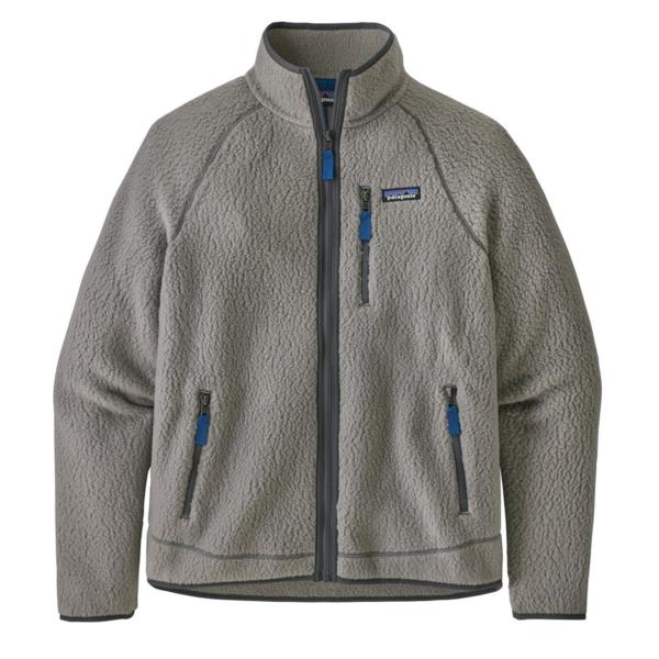 Patagonia Retro Pile Fleece Jacket Feather Grey