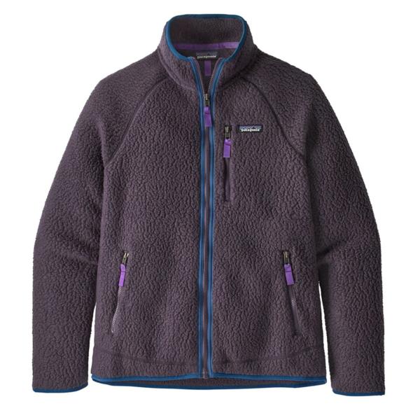 Patagonia Retro Pile Fleece Jacket Piton Purple
