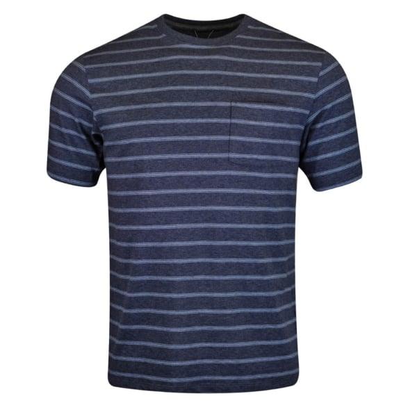 Patagonia Squeaky Clean Pocket T-Shirt Sentinel Stripe / Dolomite Blue