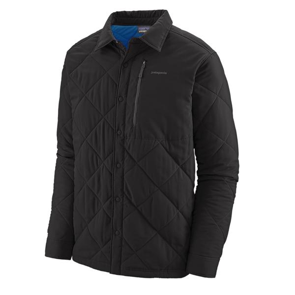 Patagonia Tough Puff Shirt Black w/Viking Blue