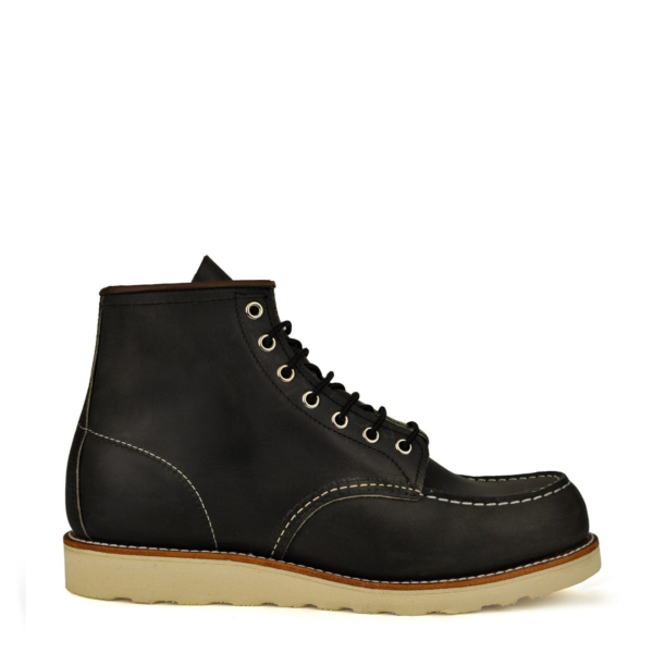Red Wing 6-Inch Classic Moc Boot Charcoal Rough & Tough