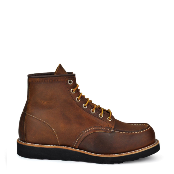Red Wing 6-Inch Classic Moc Boot Copper Rough & Tough