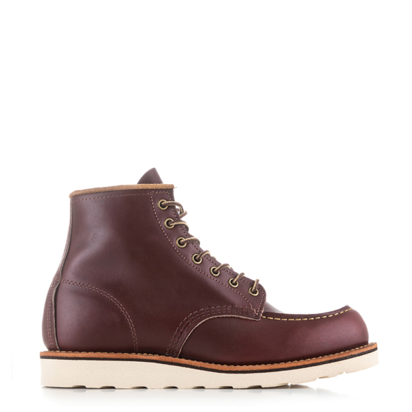 Red Wing 6-inch Classic Moc Boot Black Oxblood Mesa