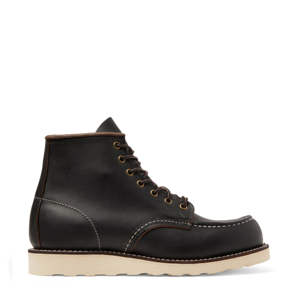 Red Wing 6-inch Classic Moc Boot Black Prairie