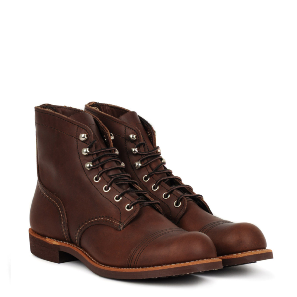 Red Wing Iron Ranger Boot Amber Harness