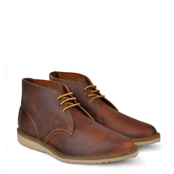 Red wing Weekender Chukka Boot Copper Rough & Tough