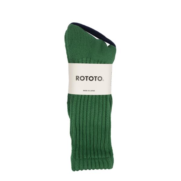 RoToTo Loose Pile Socks Green