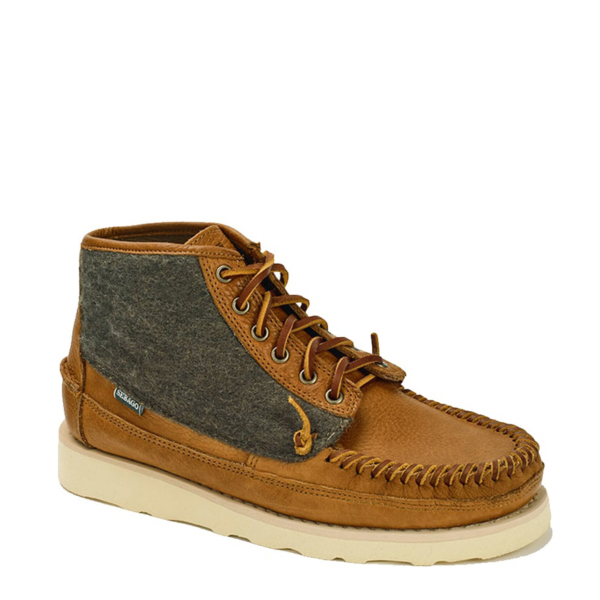 Sebago Seneca Mid Wool Boot Brown and Tan