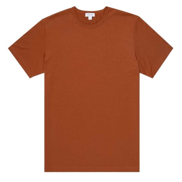 Sunspel Classic Crew T-Shirt Spice