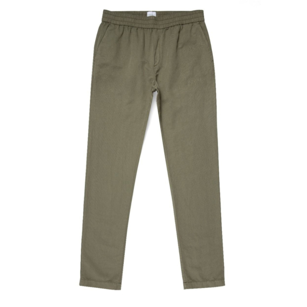 Sunspel Drawstring Trousers Light Khaki