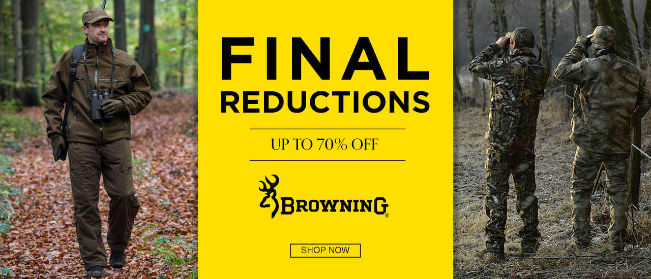Browning Shooting Clothing and Accessory Sale