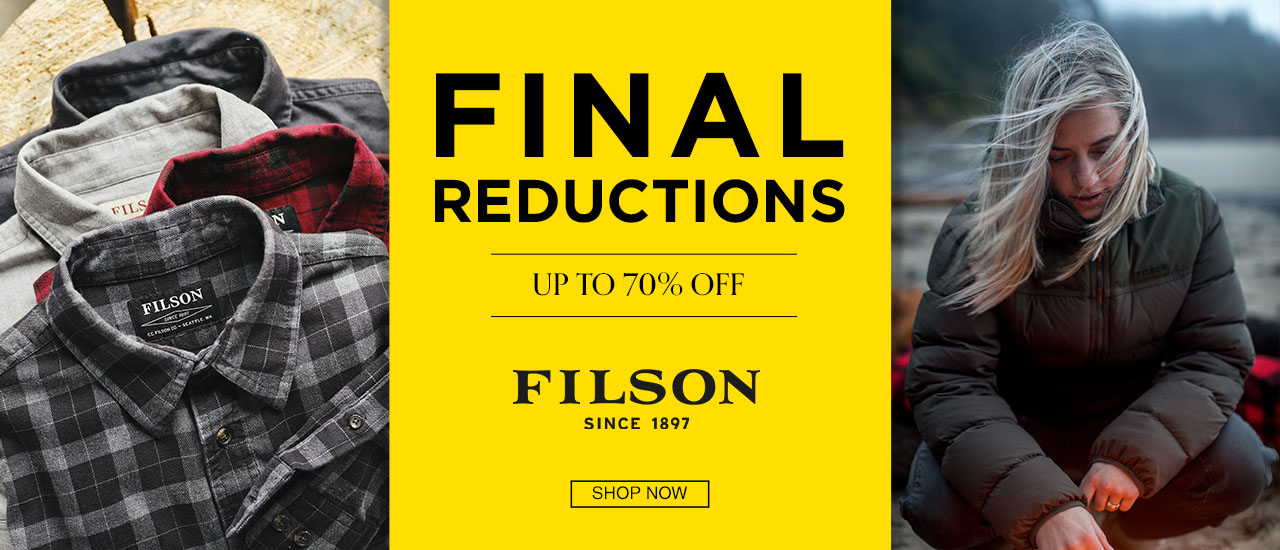 Filson Mens and Womens Sale