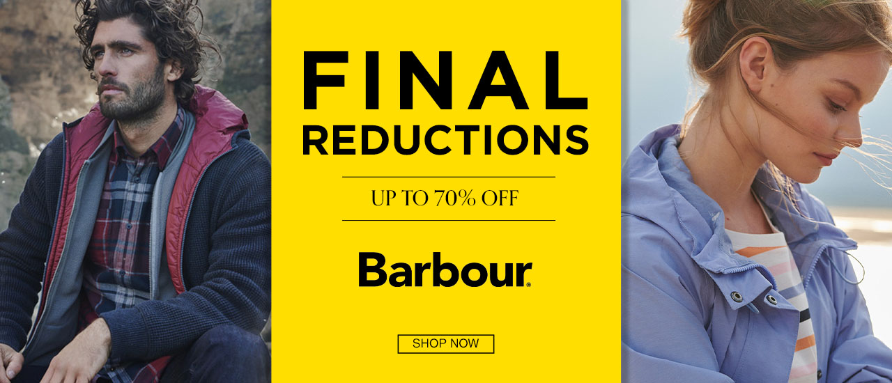 Barbour Mens and Womens Country Sale