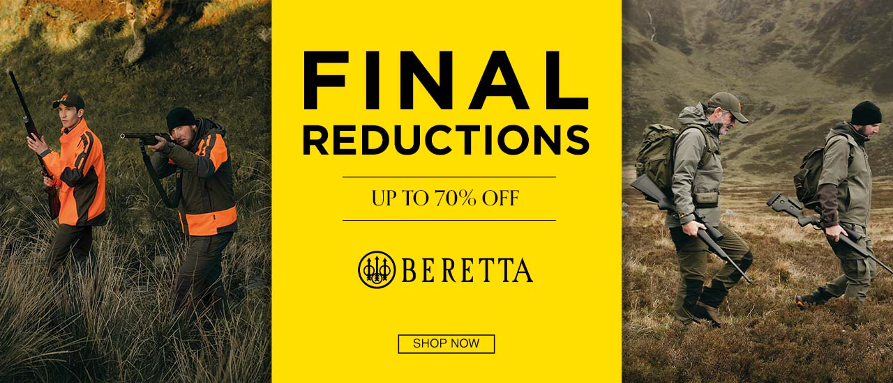 Beretta Shooting Clothing and Accessory Sale