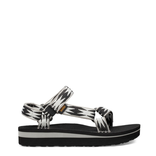 Teva Womens Midform Universal Sandals Halcon Black Multi