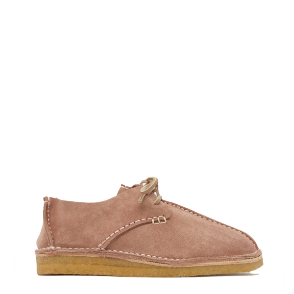 Yogi Womens Caden Suede Shoe Pink
