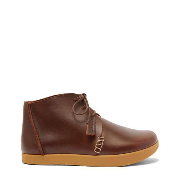 Yogi x YMC Womens Archer Leather Shoes Brown