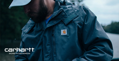 Wearing Carhartt Michigan Coat Dark Navy