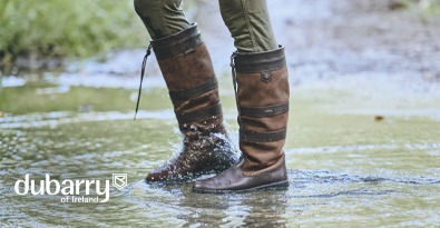 Dubarry Womens Brown Galway Gore-tex Leather Boot